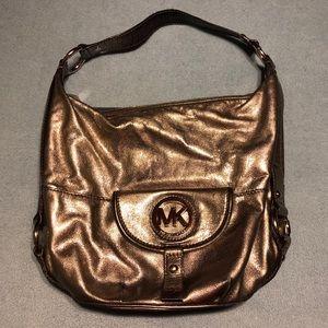 Michael Kors Bronze Medium Shoulder Bag